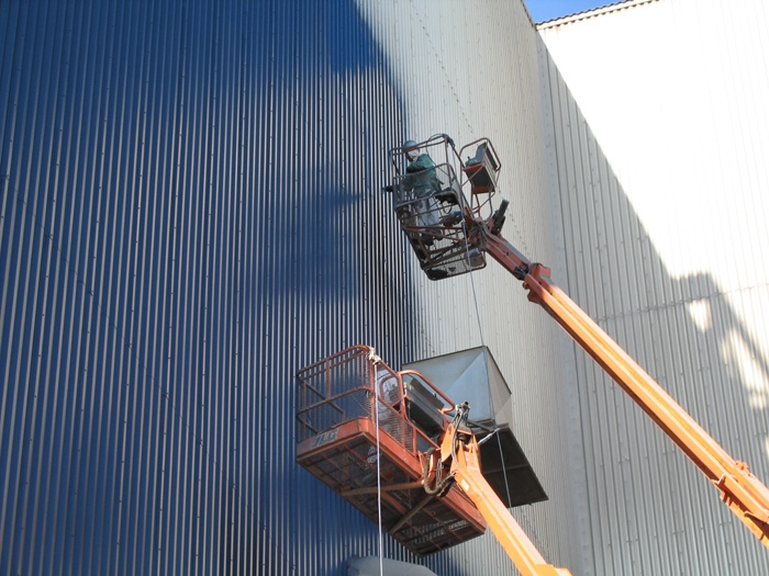 Institutional services paint group inc for Industrial painting service